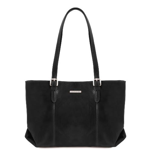 Grand Sac Epaule Cuir Femme - Tuscany Leather -