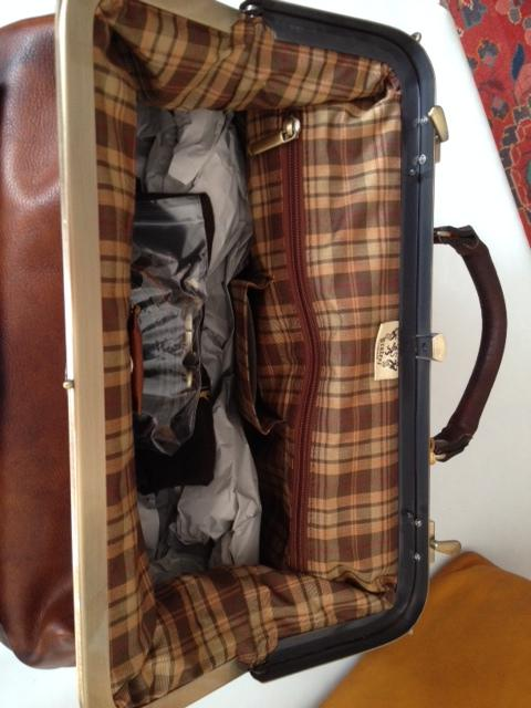 Sacs de mdecin en cuir Vintage - Les Vieilles Choses