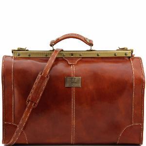Tuscany Leather Madrid Sac de voyage en cuir - Grand modèle Miel q6qBH