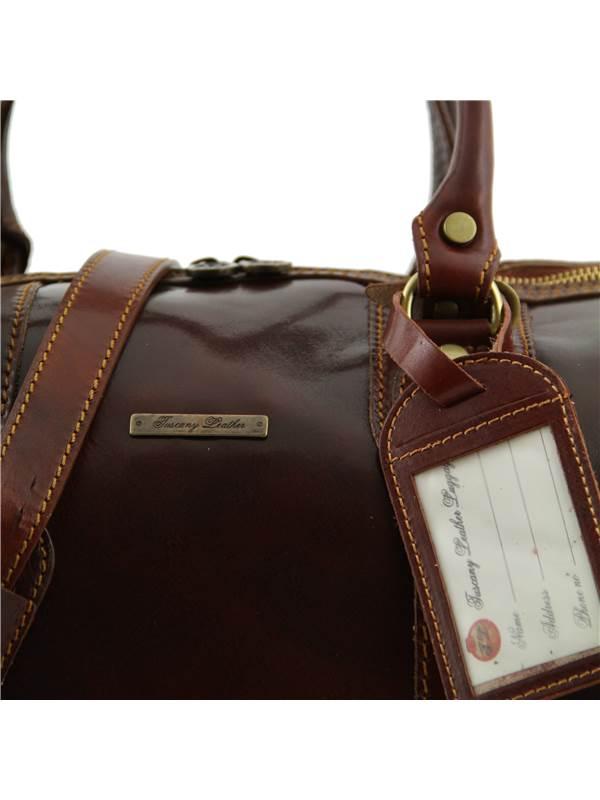 Tuscany Leather Oslo Sac de voyage en cuir Rouge ZqIMH