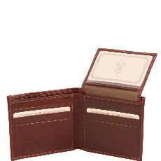 Portefeuille Cuir Homme Marron - Tuscany Leather -