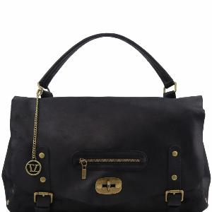 Sac Besace Cuir Vieilli TL Vintage -Tuscany Leather-