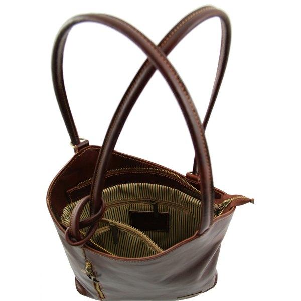 sac dos convertible sac main femme tuscany leather. Black Bedroom Furniture Sets. Home Design Ideas