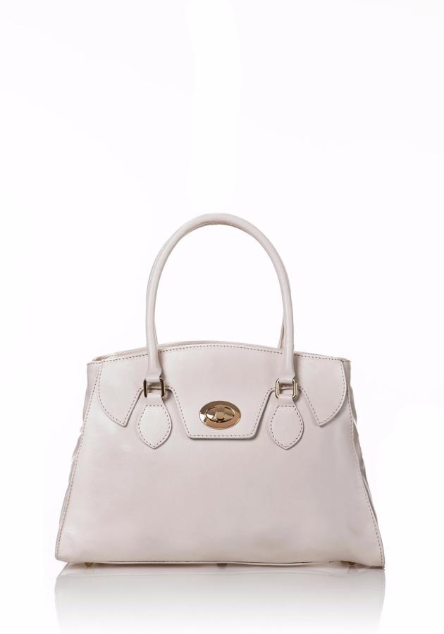 c5d098d912 Sac à Main Cuir Femme Blanc - Lucybags -