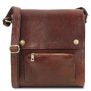 Sac Bandoulière Cuir Homme - Tuscany Leather -