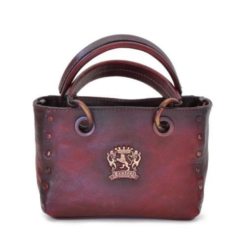 finest selection 746f3 0170a Petit Sac à Main Cuir Vintage Femme Rouge - Pratesi -