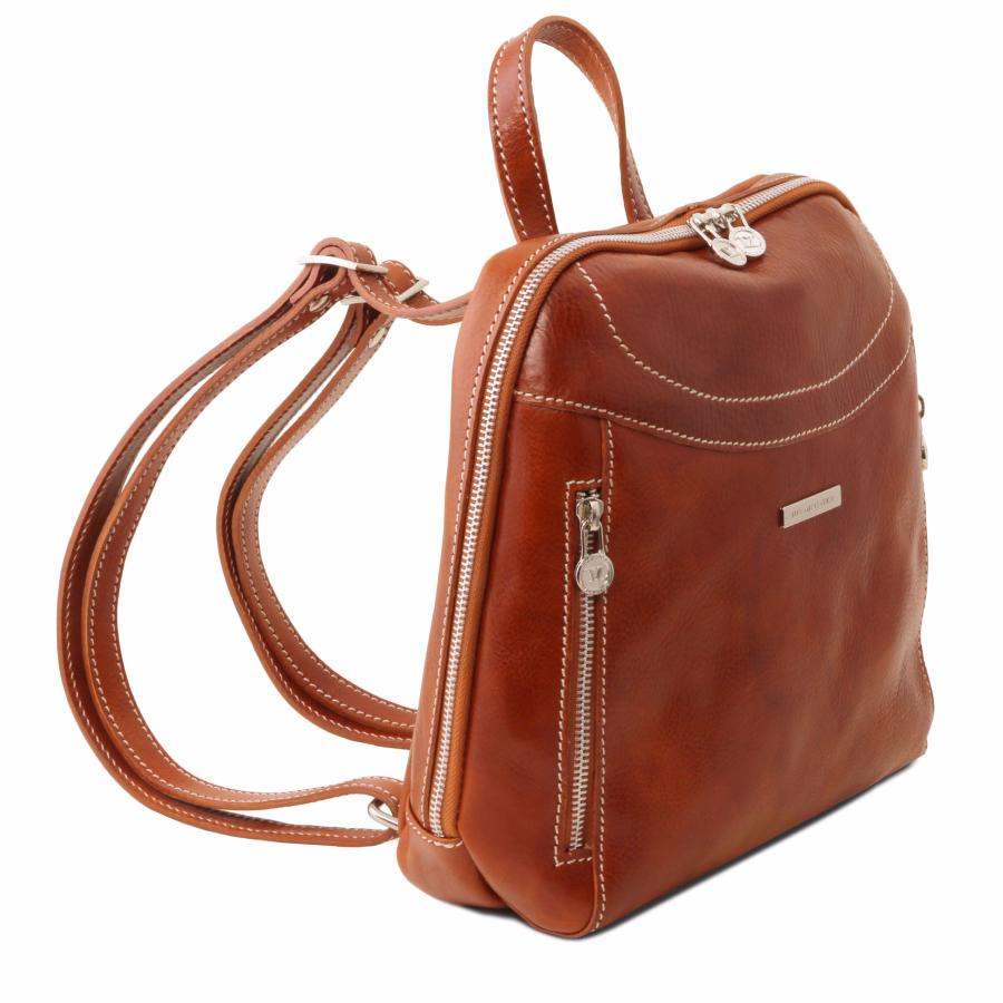 Cuir 2 Leather Dos Compartiments À Femme Sac Tuscany LpqMVGzSU