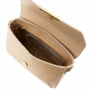 Sac Pochette Bandoulière Cuir Femme - Tuscany Leather -