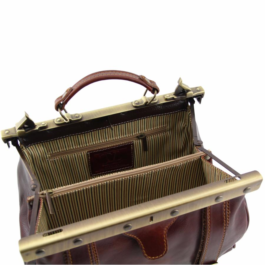 Sac Cuir Vintage Femme Camel Tuscany Leather