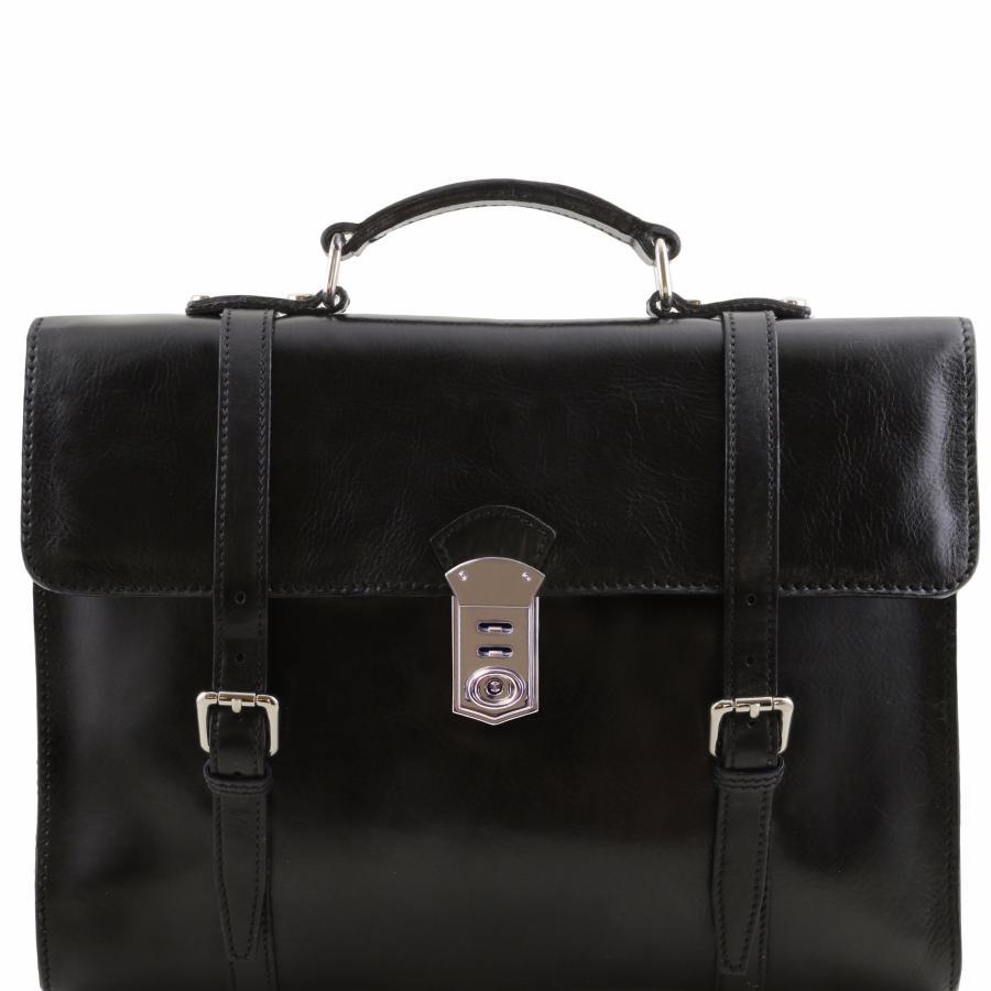 cartable sac dos cuir vintage pour ordinateur tuscany leather. Black Bedroom Furniture Sets. Home Design Ideas