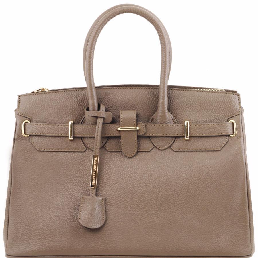 solde sac v ritable cuir femme avec sangle tuscany leather. Black Bedroom Furniture Sets. Home Design Ideas