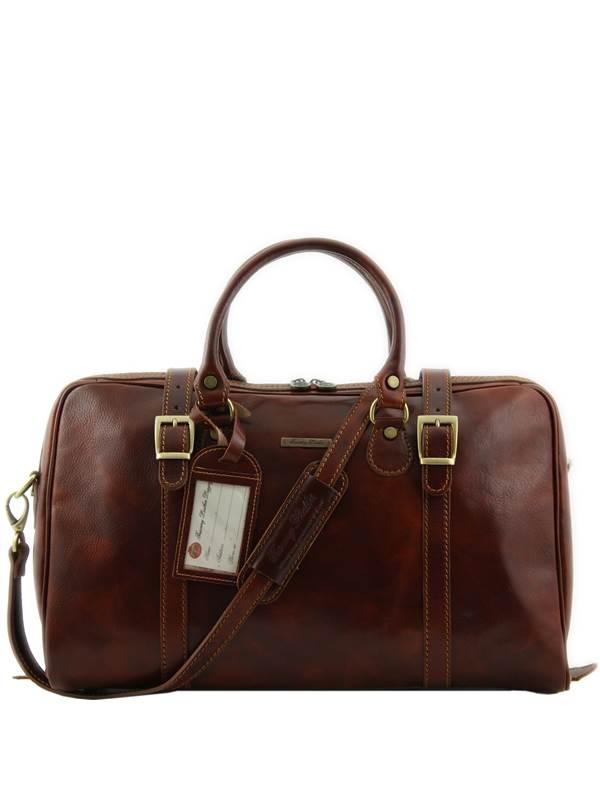 Tuscany Leather Berlin Sac de voyage en cuir - Petit modèle Miel 6cfLGpZa