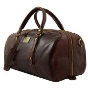 Sac de Voyage Cuir Francoforte Petit Tuscany-Leather  Marron
