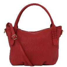 Sac Cuir Souple Femme Rouge  - Tuscany Leather -