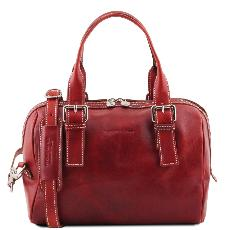 Sac Bowling Cuir Femme - Tuscany Leather -