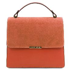 Sac Cuir Chic Chainette Femme  - Tuscany Leather -