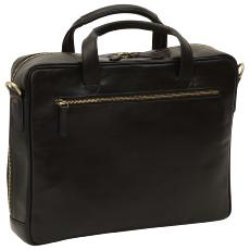 Sacoche Cuir Ordinateur Portable Homme  - Old Angler -