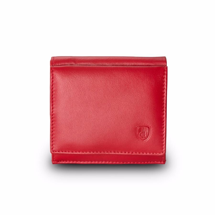 mode de luxe volume grand choisir officiel Porte Monnaie Cuir Homme Rouge -DV-