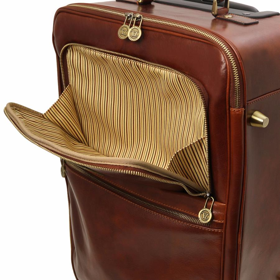 Valise trolley cuir cabine avion tuscany leather - Sac a dos trolley cabine ...