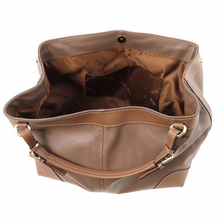 le dernier 61626 3e85f Sac Fourre-Tout Cuir Femme - Tuscany Leather -
