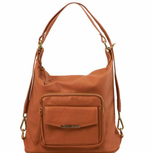 Sac Femme Cuir Transformable Sac à Dos -Tuscany Leather - 78d91ef391a5