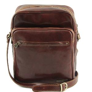 Sacoche Bandoulière Cuir Homme - Tuscany Leather -