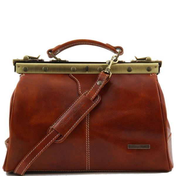 Sac Cuir Diligence Femme Camel Tuscany Leather