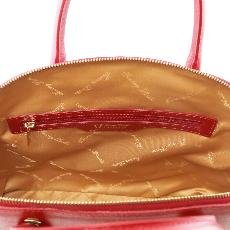Solde Sac Cabas Cuir Mode Rouge Femme - Tuscany Leather-