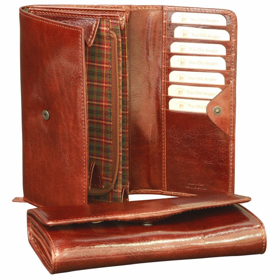 compagnon porte monnaie cuir de luxe pour femme old angler. Black Bedroom Furniture Sets. Home Design Ideas