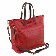 Grand Sac Hobo Cuir Vieilli Femme -Tuscany Leather -