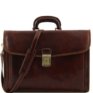 Cartable Cuir Vintage pour Enseignants -Tuscany Leather-