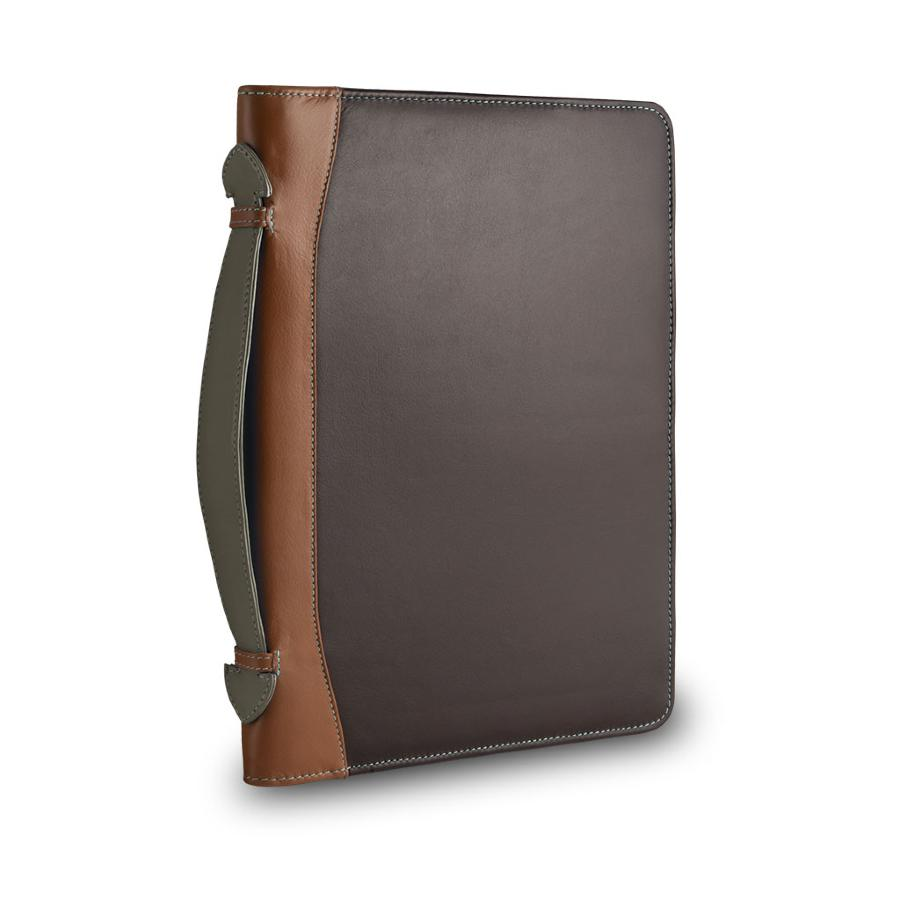 Porte tablette conf rencier cuir dudubags for Porte tablette