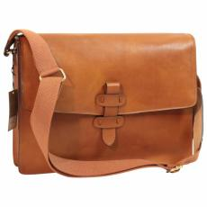 Sac Besace Messenger Cuir Homme - Old Angler -