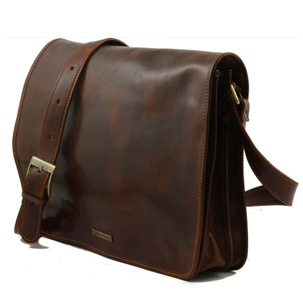sac besace messenger cuir homme tuscany leather