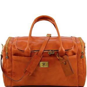 Tuscany Leather TL Voyager Sac de voyage en cuir Miel vbCDGb
