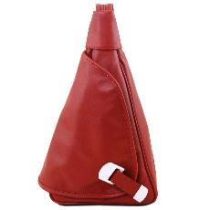Petit Sac à Dos Cuir Rouge Femme -Tuscany Leather -