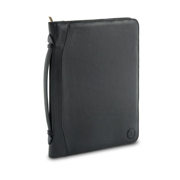 Serviette cuir pour tablette ipad avec poign es marque nuvola pelle - Pouf en cuir avec rangement ...