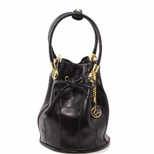 Sac a Main Cuir Forme Seau -Tuscany Leather-