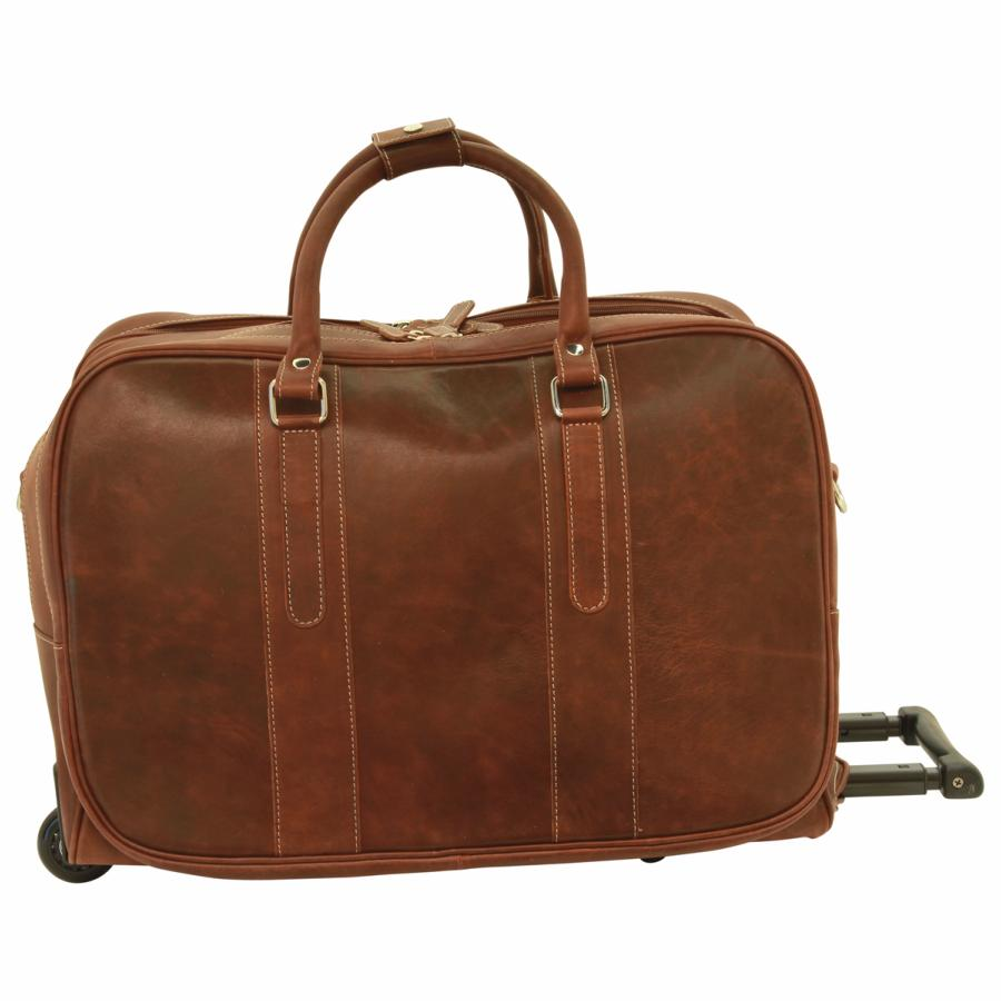 sac de voyage cuir roulettes compartiments old angler. Black Bedroom Furniture Sets. Home Design Ideas