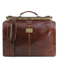 Sac de Voyage Cuir Vintage Marron -Tuscany Leather -
