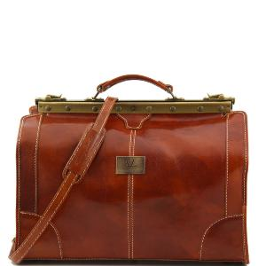 Sac de Voyage Cuir Femme Tendance Madrid -Tuscany Leather-