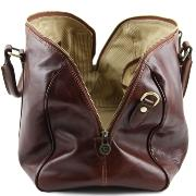 Sac de Voyage Cabine Avion Cuir Marron - Tuscany-Leather-