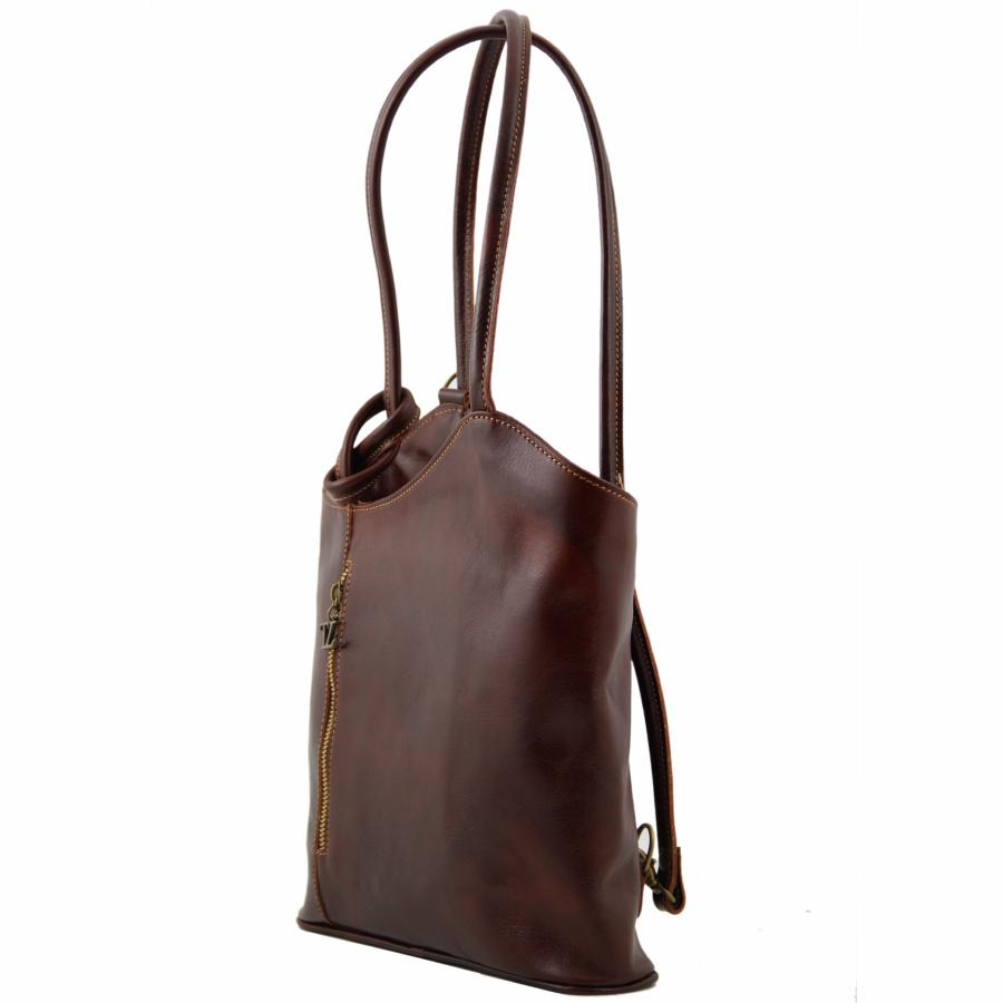 Femme En Leather À Sac Convertible Tuscany Cuir Dos 5R3Aqj4L