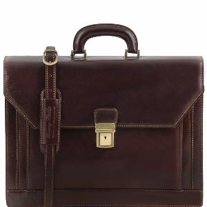 Cartable Cuir Cadre ou Prof lib  - Tuscany Leather -