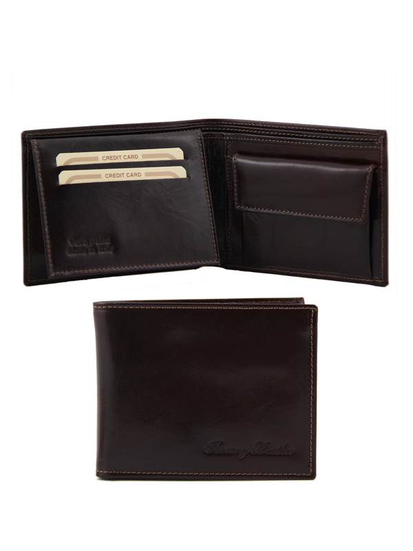 portefeuille porte monnaie cuir homme tuscany leather