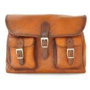 Sac Besace Style Vintage pour Homme Camel -Pratesi-