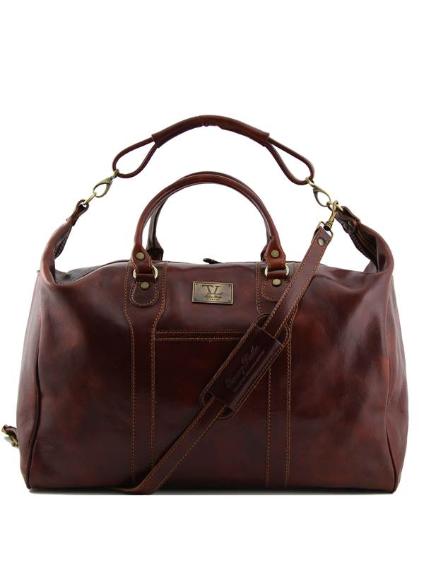 Cuir De Grand Homme Voyage Leather Sac Italie Tuscany OXwn0P8k
