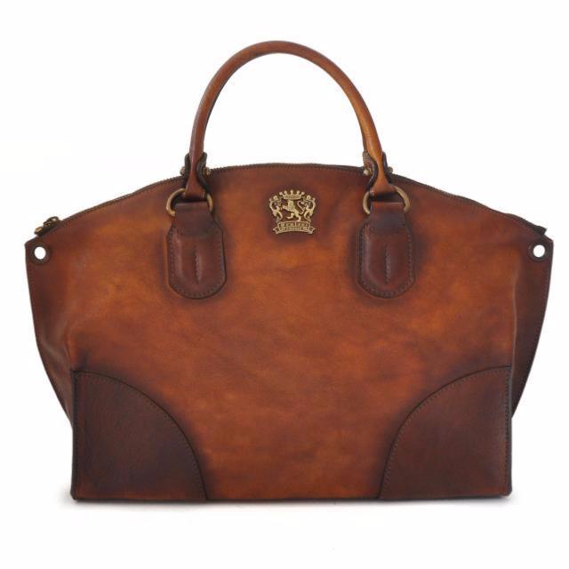 sac style cabas en cuir vintage italien pour femme pratesi. Black Bedroom Furniture Sets. Home Design Ideas
