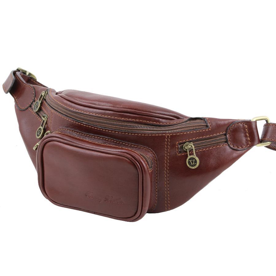 soldes sac banane cuir italie tuscany leather. Black Bedroom Furniture Sets. Home Design Ideas