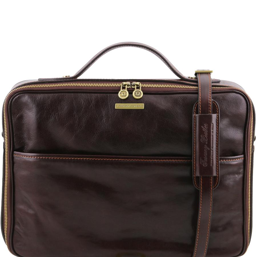sacoche cuir poche ordinateur tuscany leather. Black Bedroom Furniture Sets. Home Design Ideas